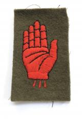 3rd Searchlight Regiment Roal Artillery cloth formation sign